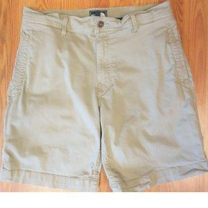 THE NORTH FACE REGULAR FIT SHORTS TAN COTTON